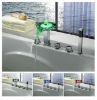 LPF03 2011 newest style Led brass faucet