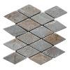 yellow rhombus natural slate mosaic stone