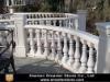 White Marble Balustrade/Stone Railing