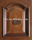 cost effective solid wood handcraft cabinet doors EFS-D-8004
