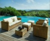 Outdoor Wicker Sofa