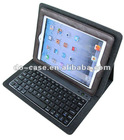 newly design PU leather case for ipad2 with wireless bluetooth keyboard