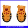 Plastic double injection interphone housing