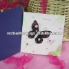 greeting card with butterfly