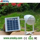 led hand bulb with solar panel