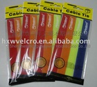 20mm width Colored nylon Velcro Cable tie