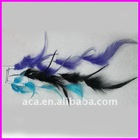 2012 fashion wholesale clip in feather hair extension