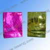 gift packing holographic paper bag