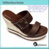 fashion pu sandals women