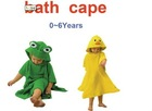 Today Coming NEW HOT COMING NEW FREE SHIPING BABY BATH CAPE /BATH ROBE 6 PIECE LOT .BATH TOWELS BABY USED BABY SLEEPING TOWELS