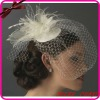 2012 New Design Veil Bridal Hat with Swarovski Crystal