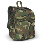 Promotional Jungle camouflage print 600-denier plyester backpack