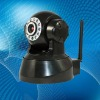 CMOS 300k Pixel WIFI IR Pan Tilt IP Camera With Dual Audio