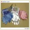 100% virgin PE material Disposable food processing pe gloves