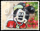 lovable sequin and bead micky,garment ornament