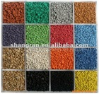 SBR rubber granules and EPDM rubber granules