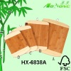 bamboo chopping blocks set with metal hook