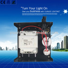 encapsulated gear box for HID lamps