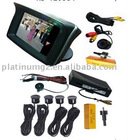 TFT monitor parking system with camera
