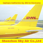 laptops batters by dhl to Germany express service