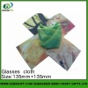 sublimation colorful eyeglass cleaning cloth for wholesale