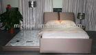 Resort hotel bedding sets luxury pu beds