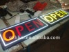 Outdoor LED Diplay/Open Sign/illuminate sign