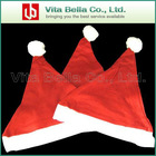christmas hat, plush santa cap/2012 christmas gift item