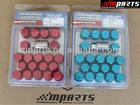 Different colors universal Car chrome Wheel Nut