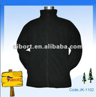 Single color zip up polar fleecy jacket(JK-110228J)
