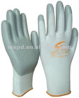 nitrile foam work glove/waterproof and oilproof /nylon knit