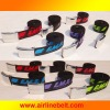 special raised logo printing belts