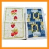 100% cotton velour printed kitchen towel