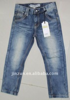 2012 cheap kids jeans child garment kids denim jeans