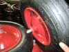 "12""pneumatic rubber wheel 3.50-6 with steel rim"