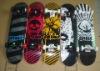 Four wheels Skateboard complete