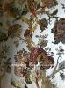 100% silk blend jacquard floral pattern upholsteryfabric