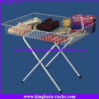 KingKara KADR038 Coat Folding Dump Table For Supermarket
