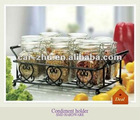 Verona 7 piece spice jar sets