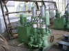 High pressure plunger pump for long distance transportion slurry