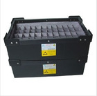 ESD/Anti-static black plastic corrugated box - 9805601