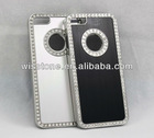 White or Black Bling Diamond Hard Back Case Cover for iPhone 5 5G