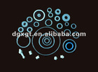 Supply o-shape sealing ring, silica gel circle, silicon gasket