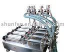 Four-Head Oil Filling Machine Semi-automatic