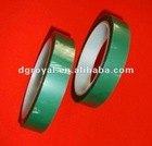 Green silicon rubber self adhesive tapesupplier