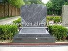 Bahama blue grave stone