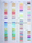 color list of high quality loose sequin (002)