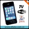 2012 3.2inch F8 mobile phone with 640*480 Touch Screen GSM Dual SIM TV Bluetooth Video Player 4GB Memory card cell phone