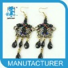 new butterfly gold earrings 2011 new design