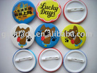 new product for 2012 hot sale cheap eco-friendly plastic button badge